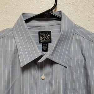 Jos. A Bank Pin Stripe Dress Shirt